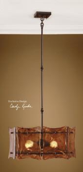 21210 Vetraio II, 3 Lt Hanging Shade by uttermost modern-pendant-lighting
