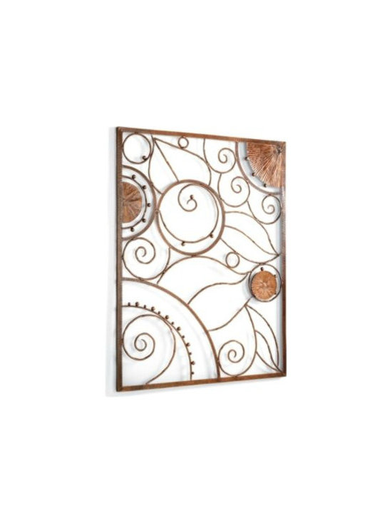 Garden Plaque Outdoor Wall Art -