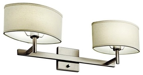 Kichler Slice 10476SN Wall Sconce - 30.25 in. - Satin Nickel contemporary-wall-sconces