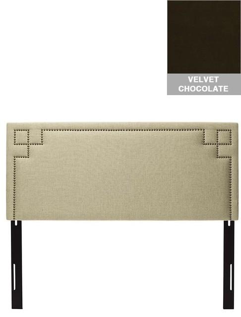 Custom Cordelia Upholstered Headboard traditional-headboards