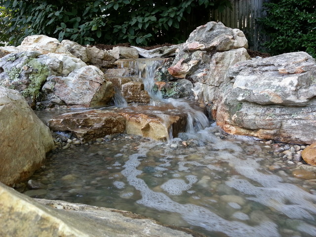 Pondless waterfalls rustic