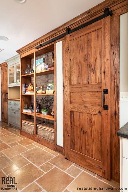 Barn Door Installations - Rustic - other metro - by Real Sliding Hardware