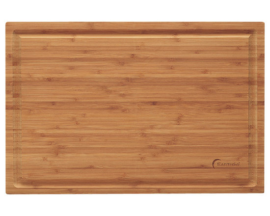 """Berghoff - Berghoff Professional Bamboo Chopping Block - Chopping board features a groove around the board to prevent juices from spilling off. Bamboo chopping boards are seeing a resurgence in popularity as they are considered a green product."""" Caring for bamboo cutting boards is easy, just wash with soap and water. The natural beauty and durability is unique."""