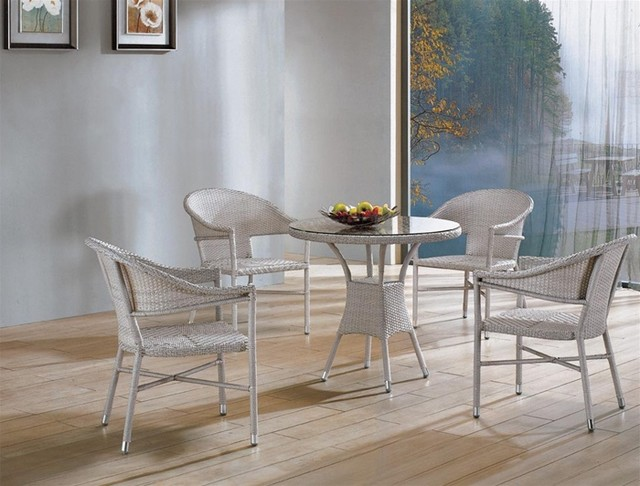 Nowl Rattan Dining Set modern-dining-tables