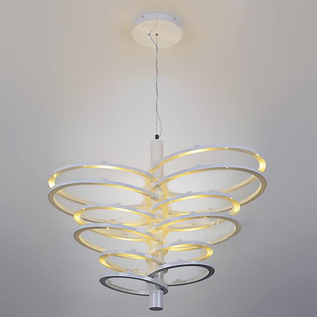 Modern Multi Rings LED Chandelier Contemporary
