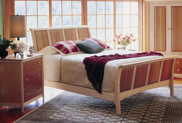 Maple Bedroom Furniture : Sarah Cherry & Maple Bedroom Furniture contemporary-bedroom
