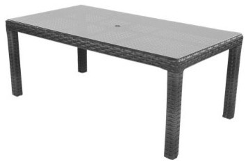 Lloyd Flanders Contempo 72 in. Rectangle Patio Dining Table modern-patio-furniture-and-outdoor-furniture