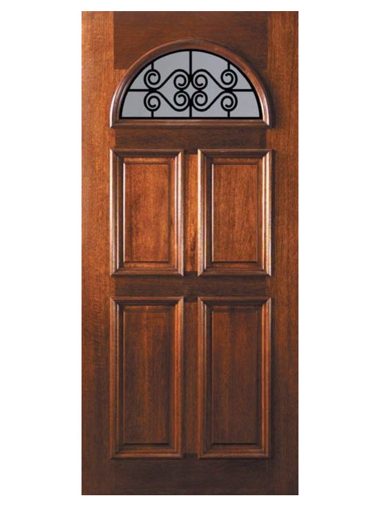 "Slab Single Door 80 Wood Mahogany Verona GBG Fan Lite GBG Glass - SKU#    L12662WVEBrand    GlassCraftDoor Type    ExteriorManufacturer Collection    Fan Lite Entry DoorsDoor Model    Verona GBGDoor Material    WoodWoodgrain    MahoganyVeneer    Price    975Door Size Options    36"" x 80"" (3'-0"" x 6'-8"")  $0Core Type    Door Style    Door Lite Style    Fan LiteDoor Panel Style    4 PanelHome Style Matching    Door Construction    LegacyPrehanging Options    SlabPrehung Configuration    Single DoorDoor Thickness (Inches)    1.75Glass Thickness (Inches)    Glass Type    Double GlazedGlass Caming    Glass Features    TemperedGlass Style    Glass Texture    Clear , RainGlass Obscurity    No Obscurity , Highest ObscurityDoor Features    Door Approvals    Wind-load Rated , FSC , TCEQ , AMD , NFRC-IG , IRC , NFRC-Safety GlassDoor Finishes    Door Accessories    Weight (lbs)    248Crating Size    25"" (w)x 108"" (l)x 52"" (h)Lead Time    Slab Doors: 7 daysPrehung:14 daysPrefinished, PreHung:21 daysWarranty    One (1) year limited warranty for all unfinished wood doorsOne (1) year limited warranty for all factory?finished wood doors"