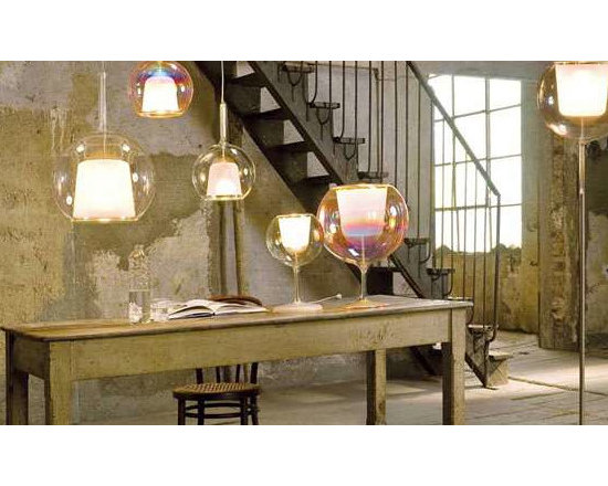 GLO FLOOR LAMP BY PENTA LIGHT - The Glo floor lamp from Penta Light is a laminar