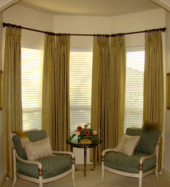 Custom Drapery traditional-curtains