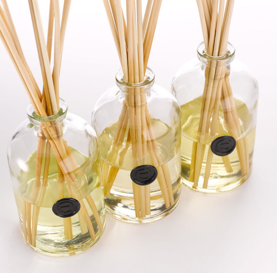 Lilac bathroom rugs - Namaste Reed Diffuser By Evoluxe Contemporary Home Fragrances By