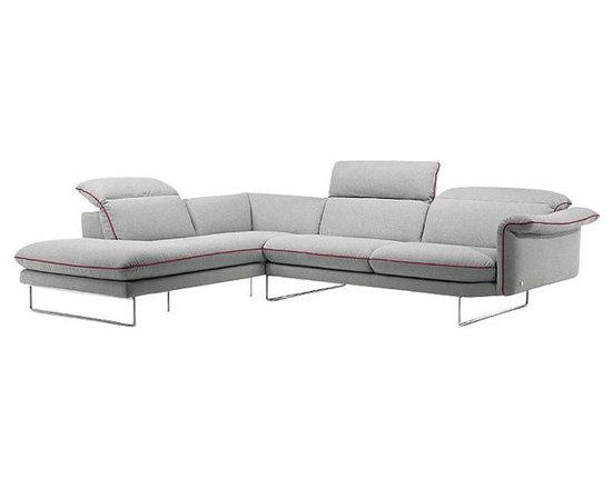 Zarah Fabric Corner Sofa -