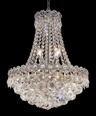 Century 8 Light Chandelier modern-chandeliers