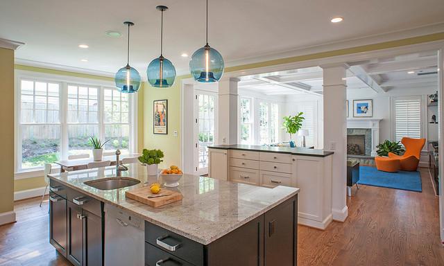 Mondrian Inspired Custom Cabinets contemporary-kitchen