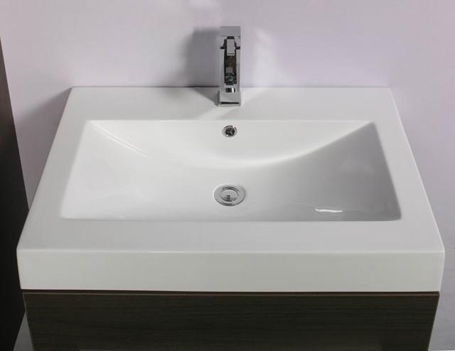 Perugia 700mm Basin Modern Bathroom Vanity Units