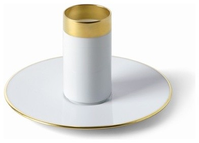 Treasure Gold Espresso Cup and Saucer modern dinnerware