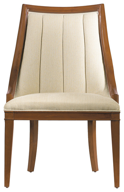 Continuum Upholstered Wood Frame Chair Transitional Dining Chairs By Ma