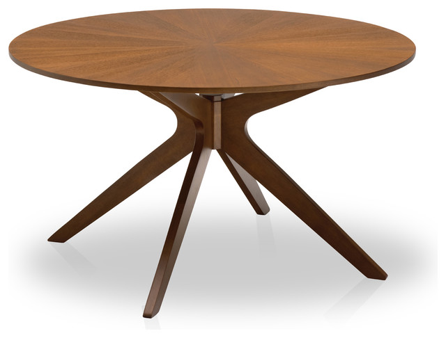 Small round kids table - Conan Round Dining Table Midcentury Dining Tables By