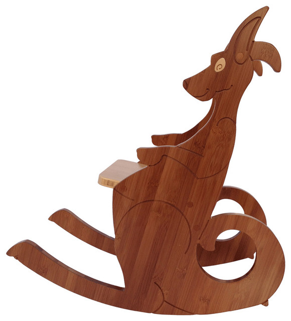Kangaroo Rocking Chair Small Modern Kids Chairs by