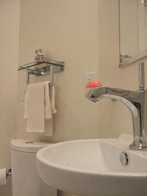 Minneapolis Rowhouse traditional-bathroom