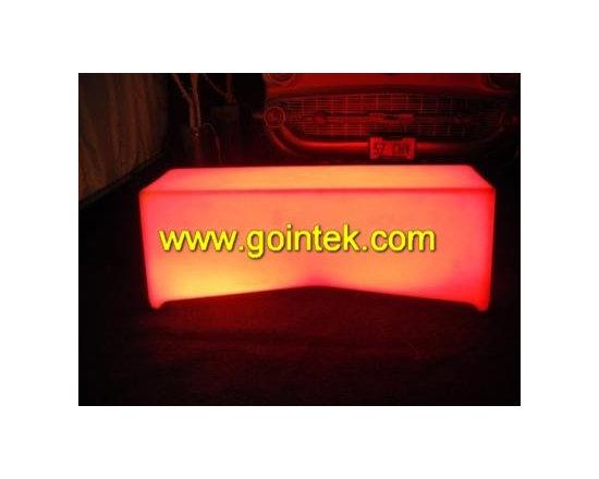 bar led seating -
