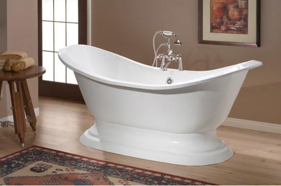 Cheviot Regency Cast Iron Bathtub Traditional Bathtubs