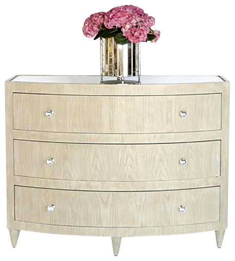 Worlds Away Natalie Lio limed oak bow front dresser transitional-dressers-chests-and-bedroom-armoires