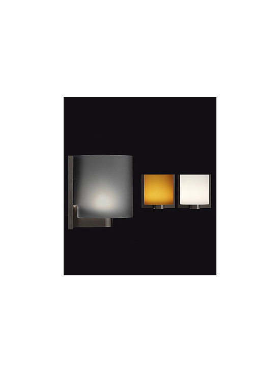 Tilee Wall Lamp \ Sconce By Flos Lighting - Tilee from Flos is a wall fixture that provides diffused light through an opal glass diffuser.