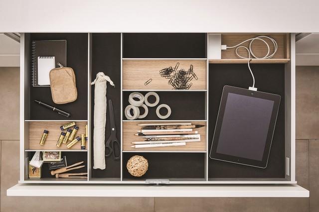 ... Kitchen Drawer Organizers - philadelphia - by SieMatic Mobelwerke USA