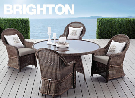 Brighton Patio Set Modern Patio Furniture And Outdoor Furniture By Home Outfitters