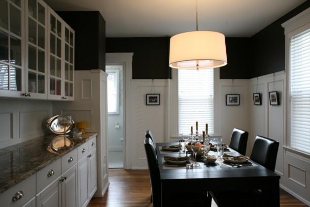 Hazelwood Road modern-dining-room