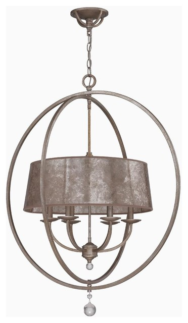 small mica drum shade and rings chandelier lamp shades. Black Bedroom Furniture Sets. Home Design Ideas