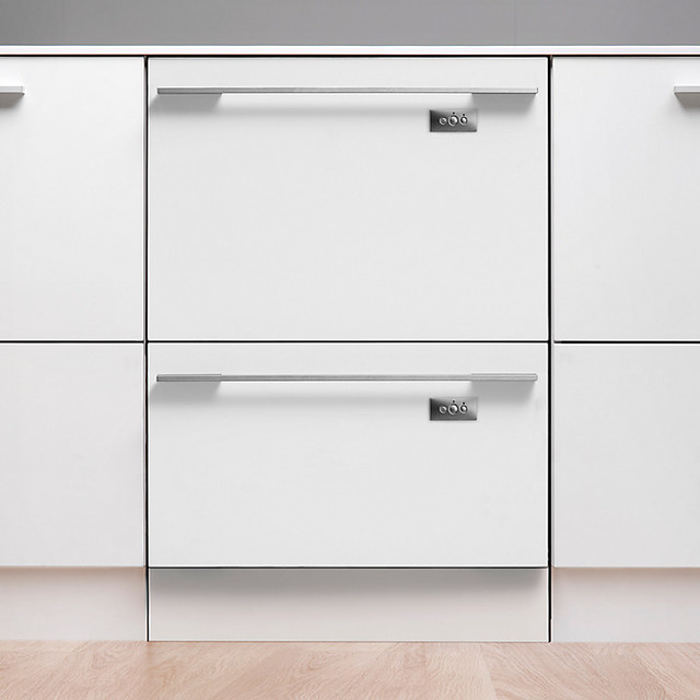 Fisher & Paykel Built-in Double DishDrawer Dishwasher - Modern ...