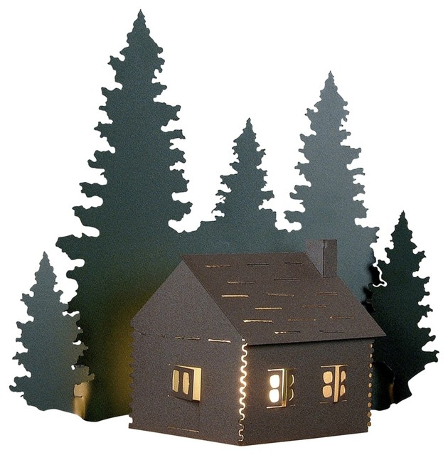 Country - Cottage Cozy Log Cabin 17