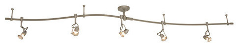 Kovacs P4116-609 Track Lighting Kit With 5 Track Heads Included modern-track-lighting