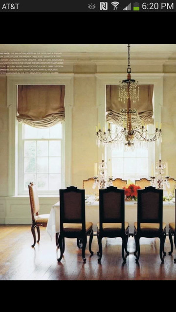 trim for dining room