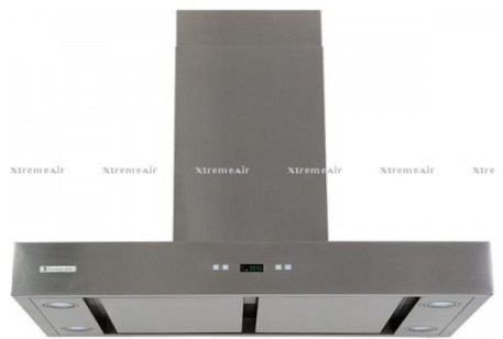 """PX04-W30 30"""" Chimney Style Wall Mount Ducted Range Hood With 900 CFM Centrifugal contemporary-range-hoods-and-vents"""