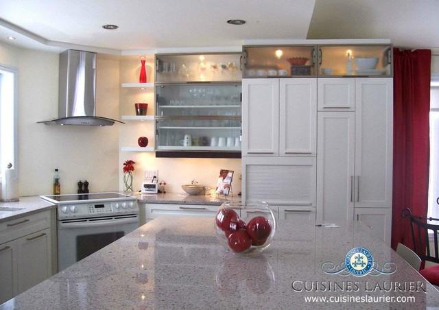 MODERN WHITE KITCHEN modern-kitchen
