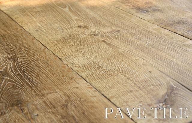 Vintage Mill 18th Century French Oak Flooring traditional-hardwood-flooring