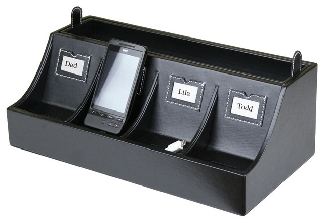 Smartphone Charging Station - Contemporary - Charging Stations - by Great Useful Stuff