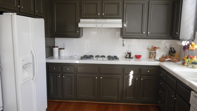 Painting kitchen cabinets - Kitchen - los angeles - by Ventura County ...