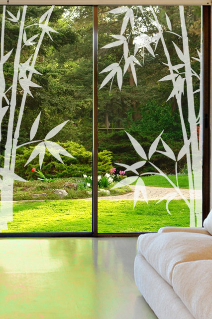 Glass Decals Amp Etched Window Graphics Contemporary