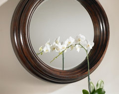 www.essentialsinside.com: Cristiano Round Mirror traditional mirrors