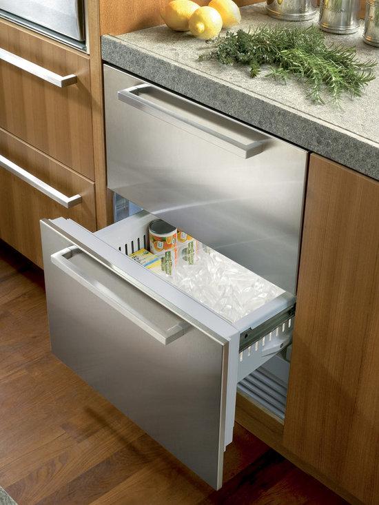 """Sub-Zero 24"""" Freezer Drawers Stainless Steel   ID-24FI -"""