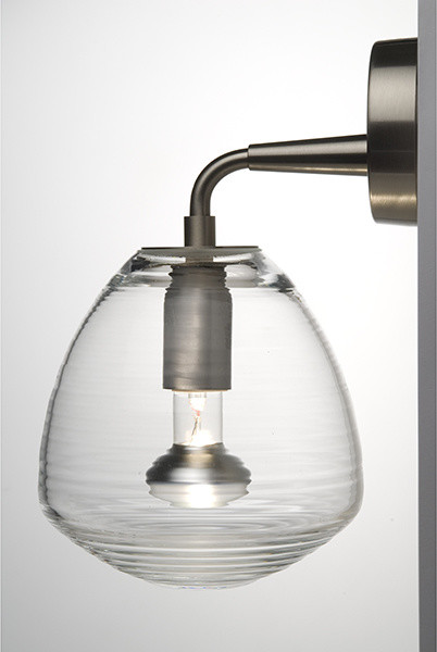 Perseo Indoor Outdoor Sconce Transparent by Michele De