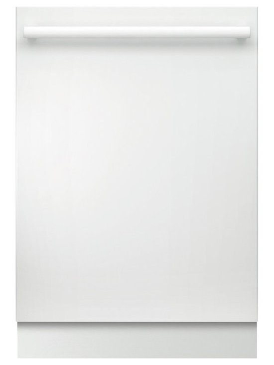 """Bosch 24"""" Bar Handle 800 Series Dishwasher, White 