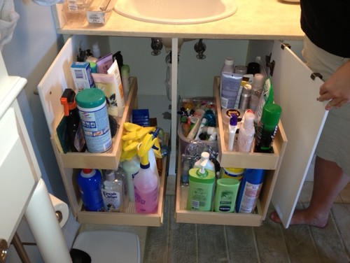 houzzcom - Bathroom Organizers Under Sink