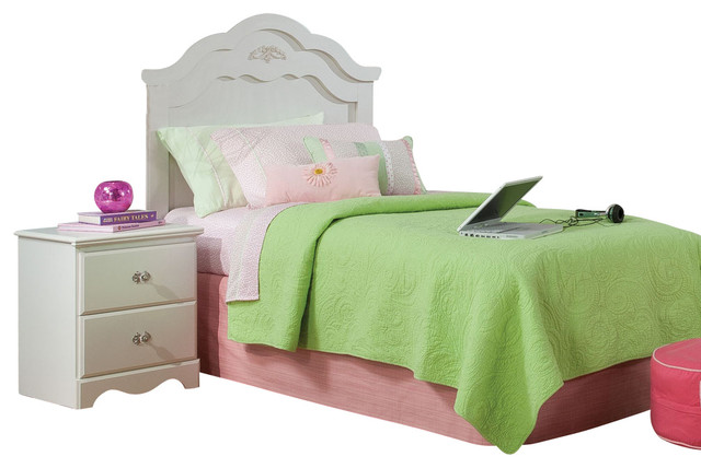 standard furniture daphne 2 piece headboard bedroom set in