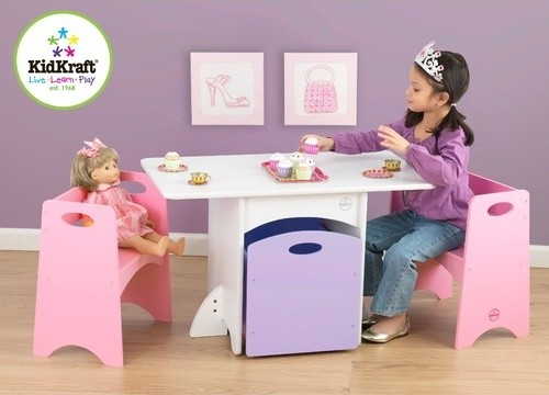 Kids' 4 Piece Table and Chair Set modern-kids-products