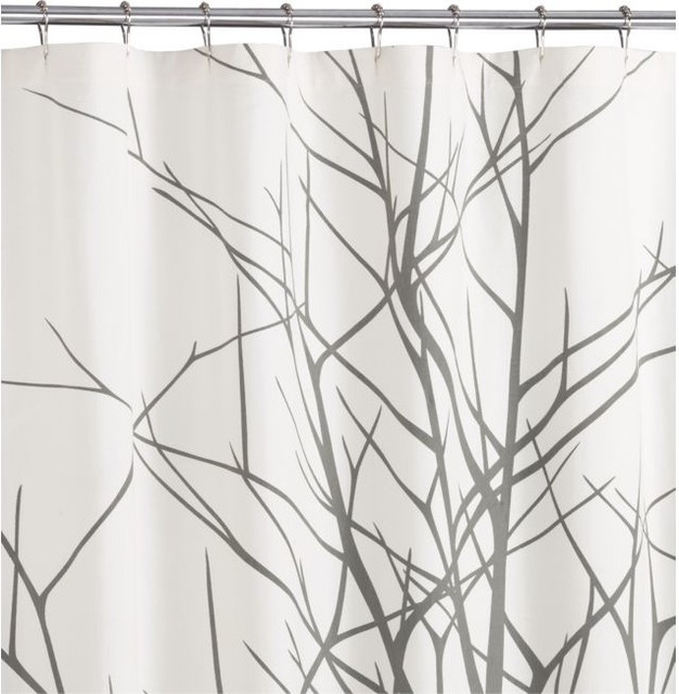 Arbor Shower Curtain - modern - shower curtains - - by CB2